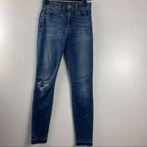 Joes Jeans The Charlie High Rise Skinny Ankle 25